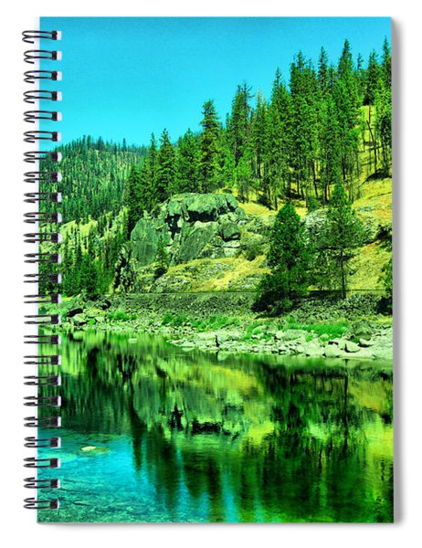 A Beautiful Stillness Spiral Notebook