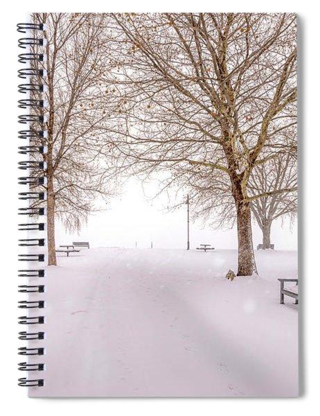A Beautiful Winter's Morning  Spiral Notebook