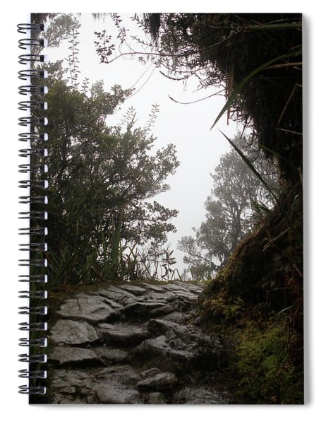 A Bend In The Path Spiral Notebook