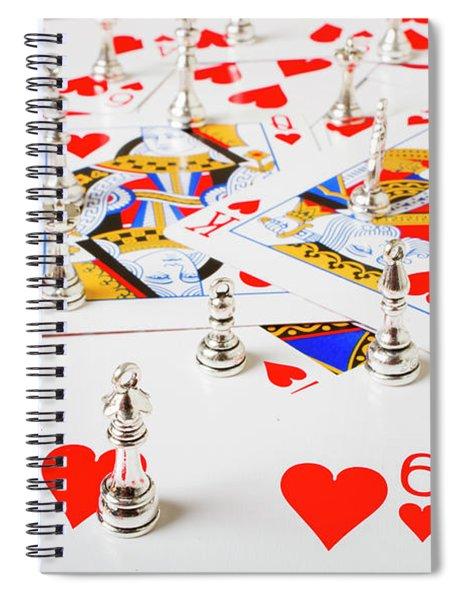 A Betting Battle Spiral Notebook