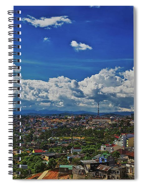 A Bit Of Disneyland In Dalat, Vietnam, Southeast Asia Spiral Notebook