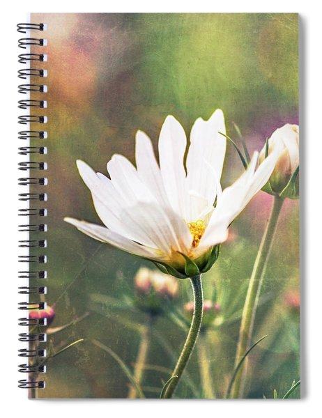 A Bouquet Of Flowers Spiral Notebook
