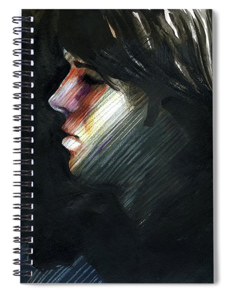A Boy Named Rainbow Spiral Notebook