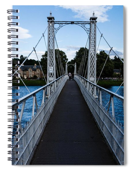 A Bridge For Walking Spiral Notebook