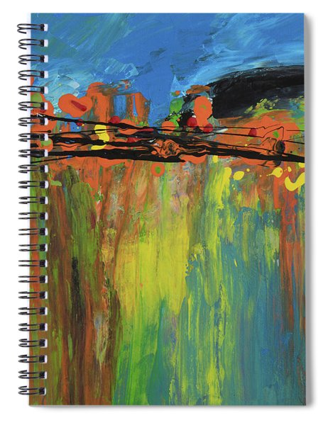 A Brilliant Reflection Spiral Notebook