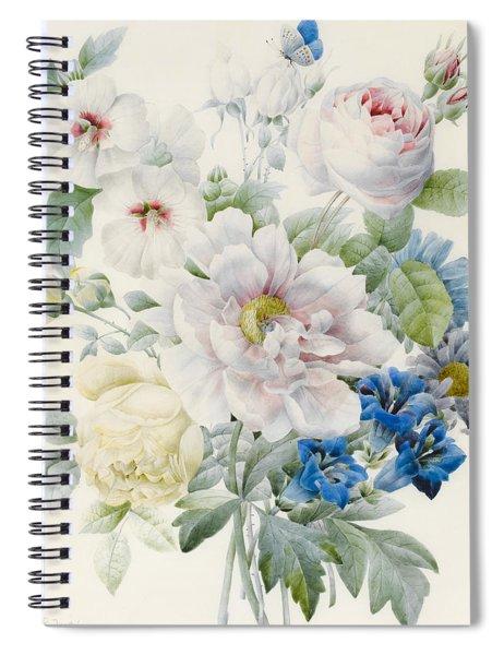 A Bunch Of Flowers Spiral Notebook