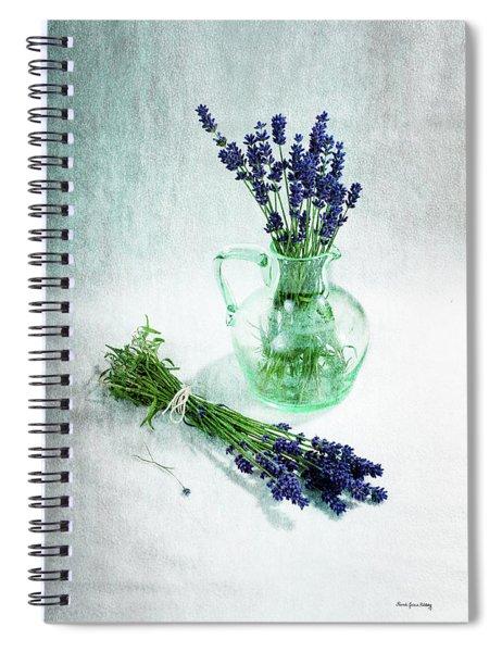 A Bundle And A Bouquet Spiral Notebook