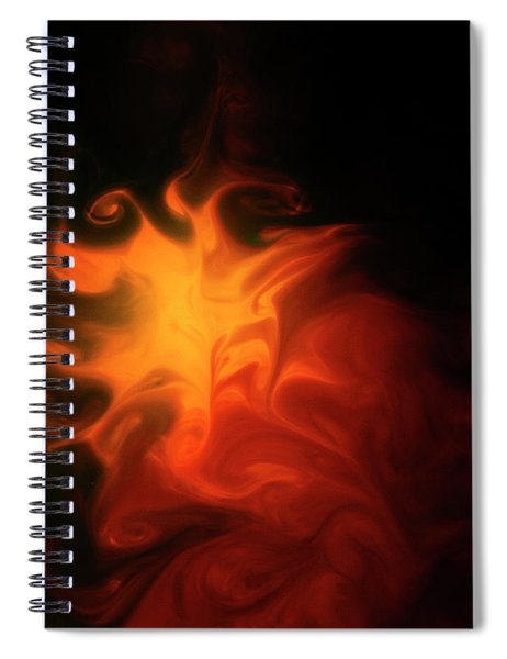 A Burning Passion Spiral Notebook