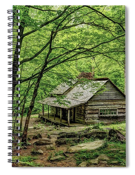 A Cabin In The Woods Spiral Notebook
