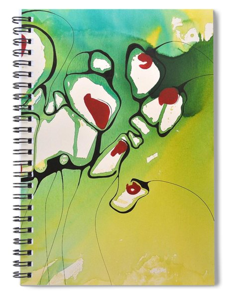 A Caged Feeling Spiral Notebook