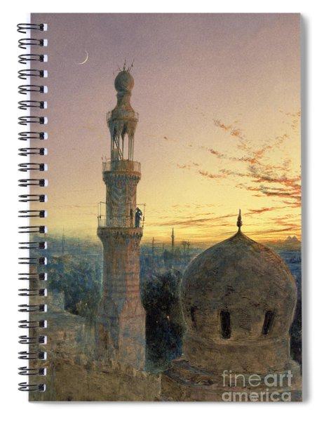 A Call To Prayer Spiral Notebook