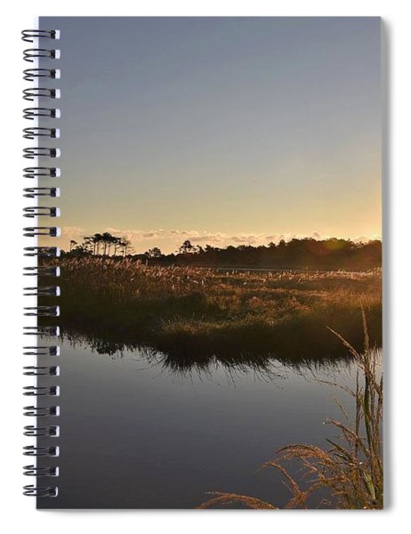 Canal View At Gordon's Pond Spiral Notebook