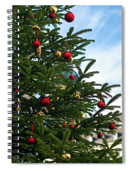 A Christmas Tree In Munich Spiral Notebook