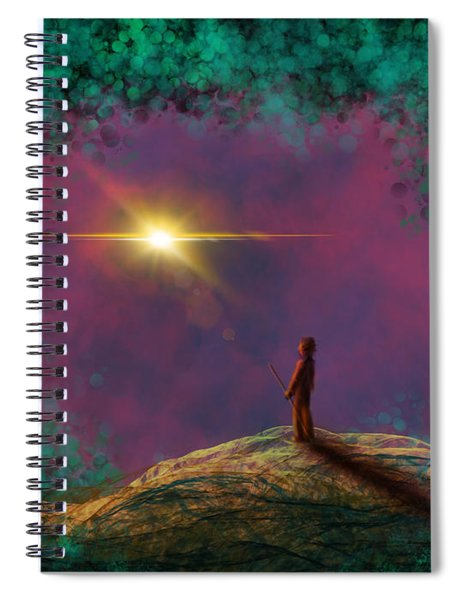 A Clearing Spiral Notebook