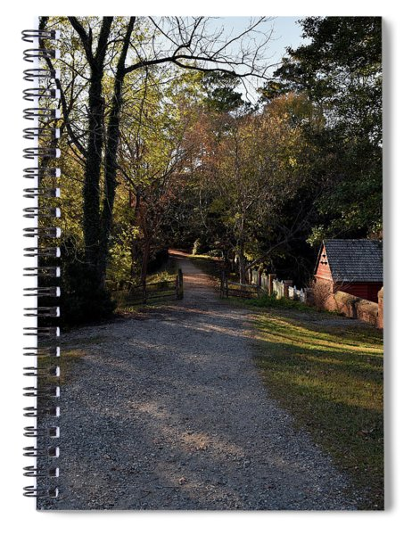 A Colonial Path Spiral Notebook