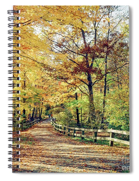 A Colorful Walk Spiral Notebook