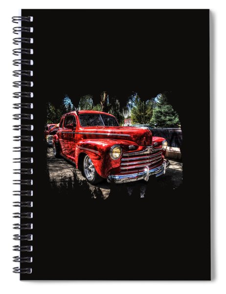 A Cool 46 Ford Coupe Spiral Notebook