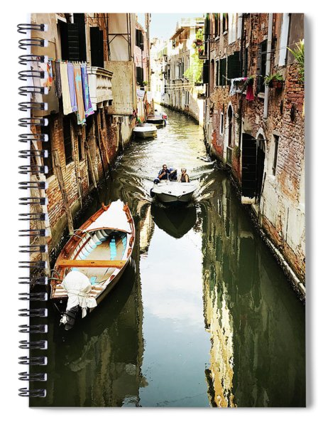 A Corner In Venice Spiral Notebook