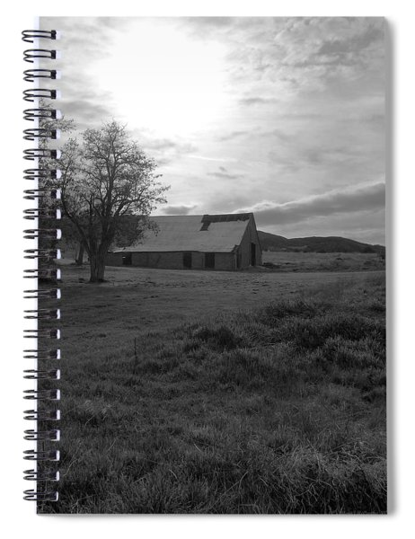 A Country Reflection Spiral Notebook