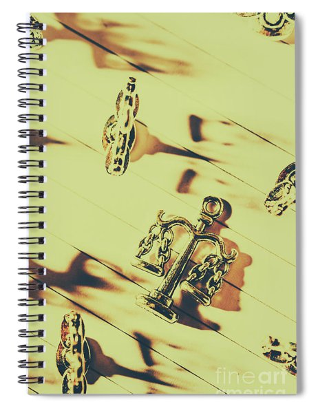 A Courthouse Judgement Spiral Notebook