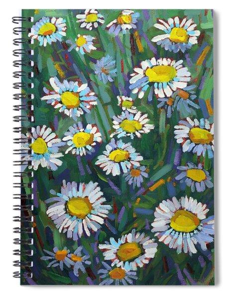 A Daisy A Day Spiral Notebook