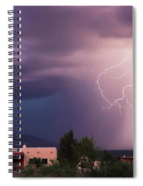 A Dance Of Lightning In The Foothills Spiral Notebook