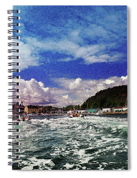 A Day At Sea Spiral Notebook