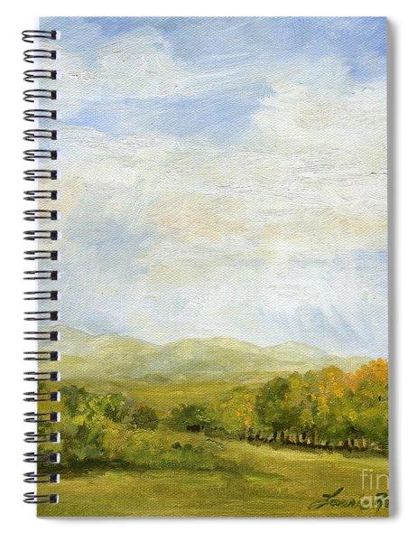 A Day In Autumn Spiral Notebook