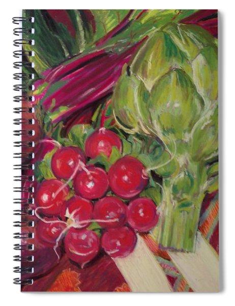 A Day In My Kitchen Spiral Notebook