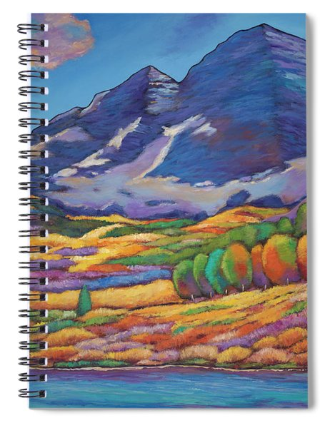 A Day In The Aspens Spiral Notebook