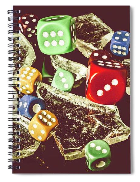 A Dealers Cut Spiral Notebook