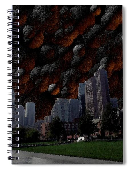 A Dimension Of Boston Rarely Seen Spiral Notebook