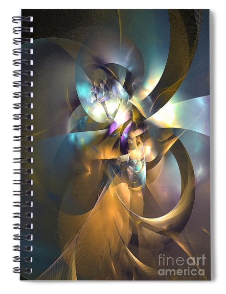 A Distant Melody Spiral Notebook