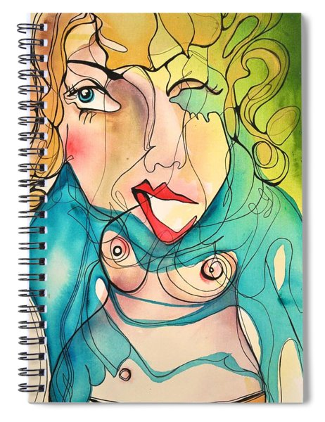 A Drowning Demise Spiral Notebook