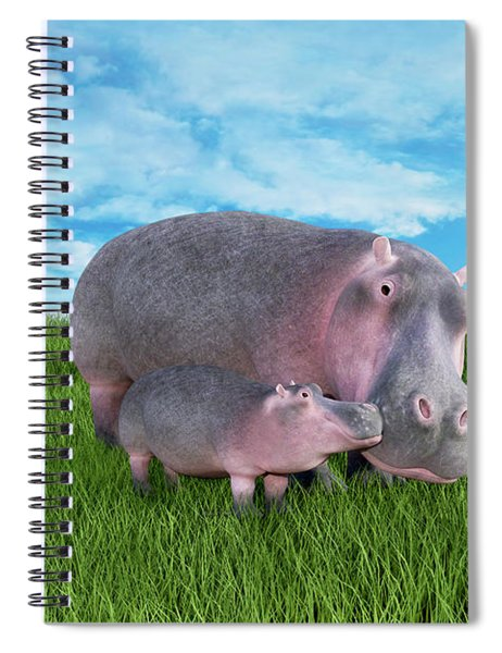 A Face Only A Momma Could Love Spiral Notebook