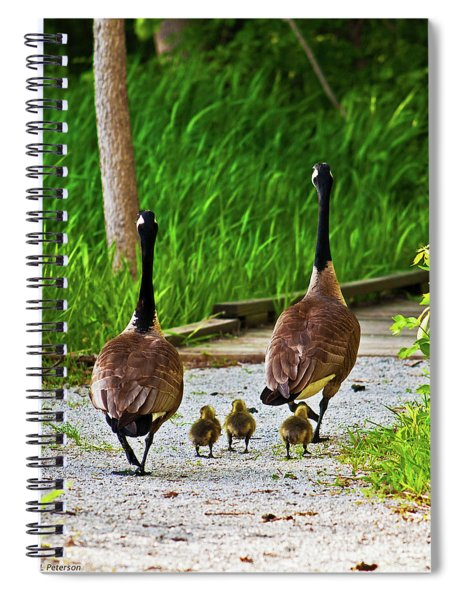 A Family Stroll Spiral Notebook