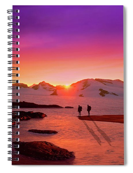 A Far-off Place Spiral Notebook