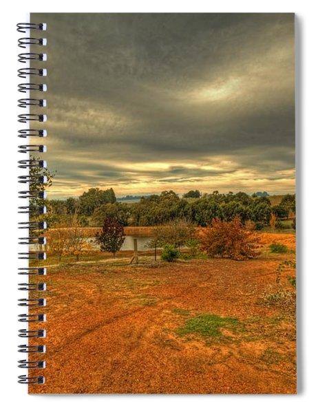 A Farm In Bridgetown, Western Australia Spiral Notebook