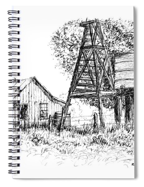 A Farm In Schroeder Spiral Notebook