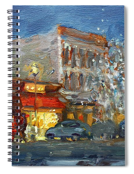 A Festive Atmosphere In Tonawanda Spiral Notebook