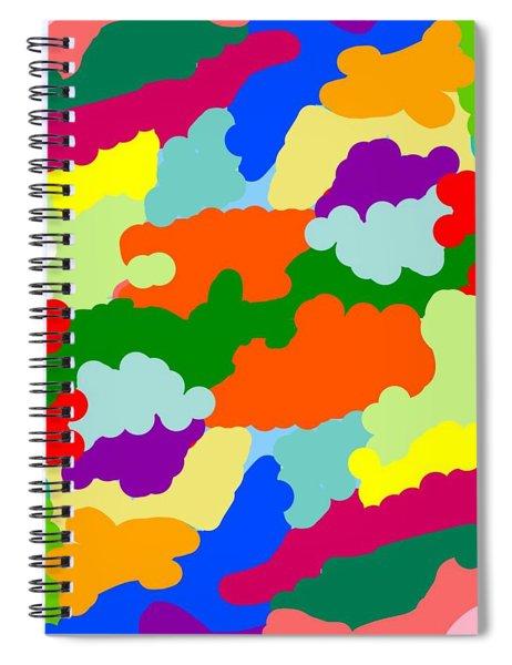 A Fiesta Of Inks Spiral Notebook