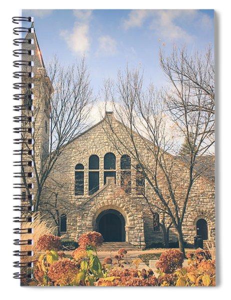 A Fine Autumn Day Spiral Notebook