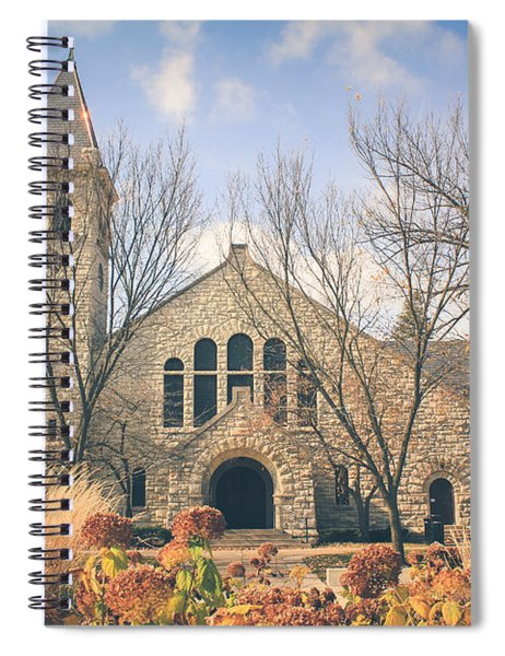 A Fine Autumn Day Spiral Notebook