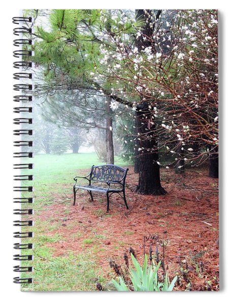 A Foggy Spring Morning Spiral Notebook