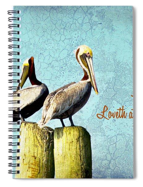 A Friend Spiral Notebook