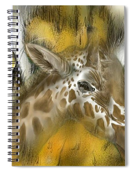 A Friend For Lunch Spiral Notebook