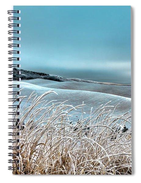A Frosty Morning On The Palouse Spiral Notebook