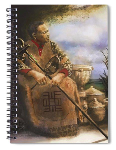 A Fundi's Wisdom Spiral Notebook