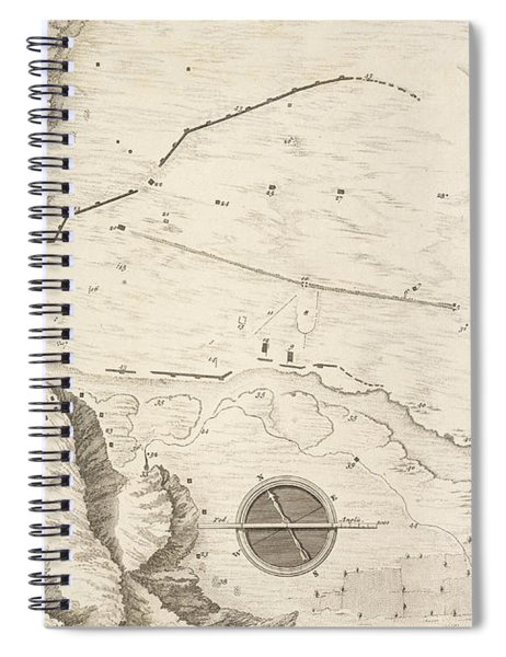 A Geometrical Plan Of The Ruined City Of Palmyra, 1753 Spiral Notebook