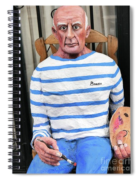 A Giant Of Spanish Art Spiral Notebook